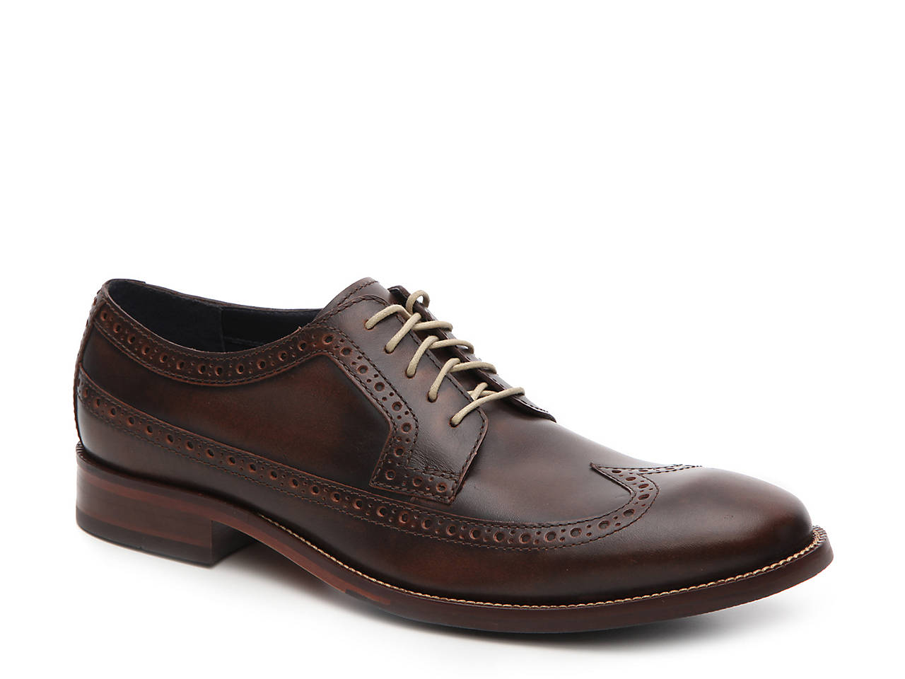 Williams Leather Wingtip Oxfords