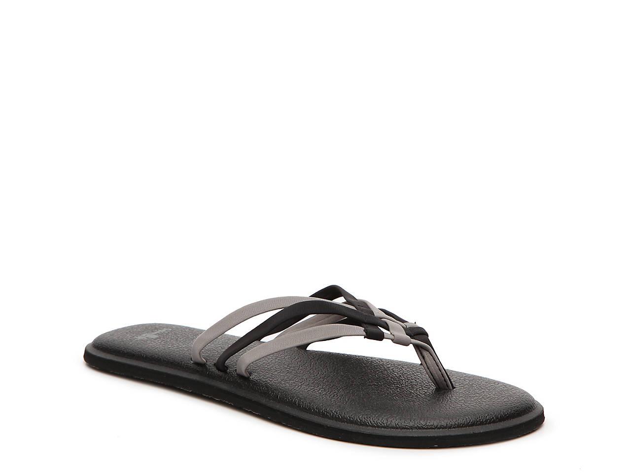 6f785034f48a89 Sanuk Yoga Salty Flip Flop Women s Shoes