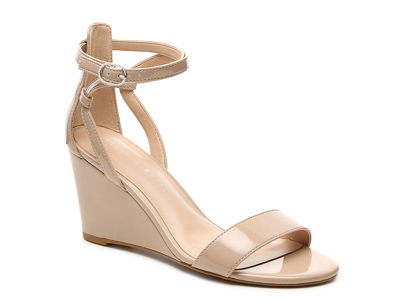 Kelly & Katie Tamra Wedge Sandal Women's Shoes | DSW