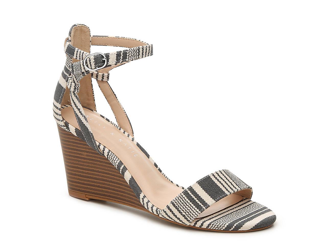 Black sandals at dsw - Tamra Wedge Sandal