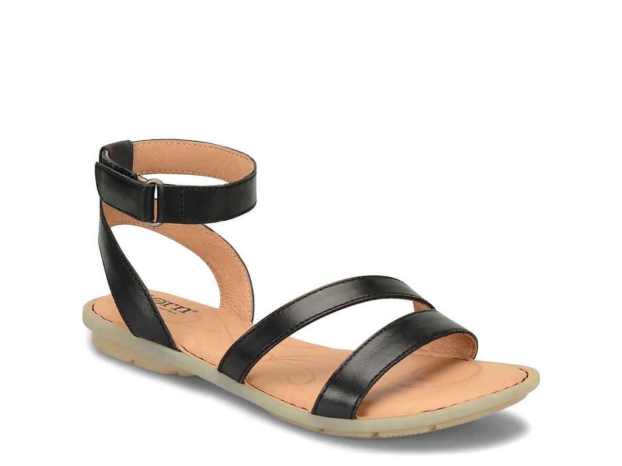 7b75e7654311 Born August Flat Sandal Women s Shoes