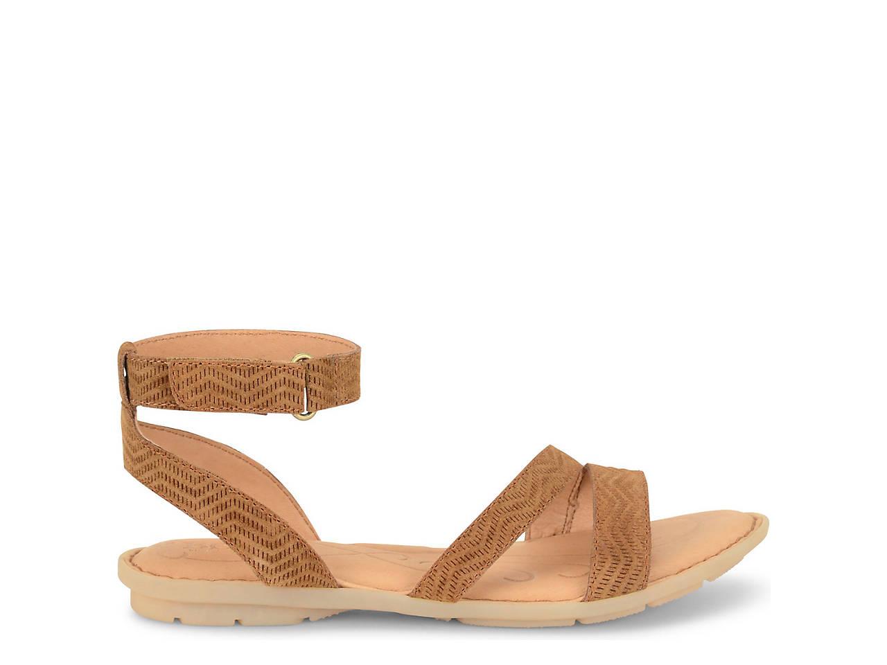 Born August Flat Sandal Women S Shoes Dsw