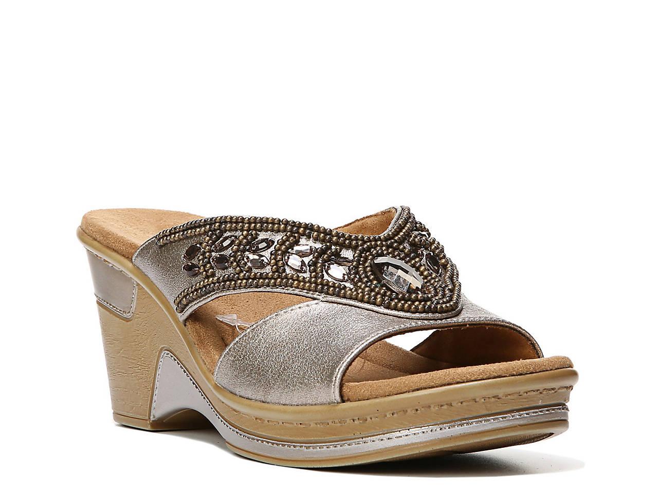 d4d58da7e44 Natural Soul Ragan Wedge Sandal Women s Shoes