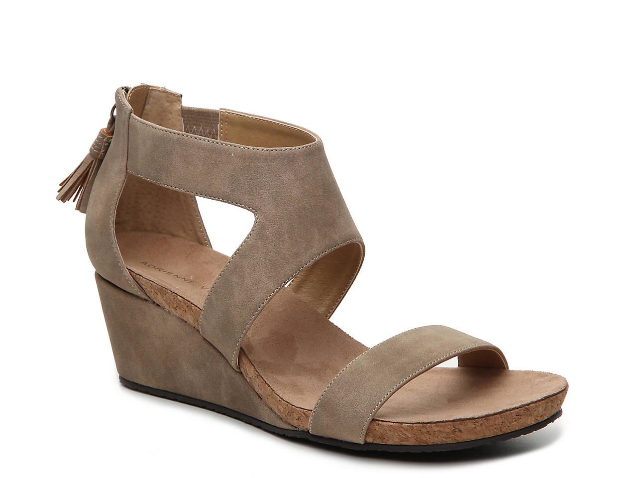d474a1b98bc Adrienne Vittadini Thalia Wedge Sandal Men s Shoes