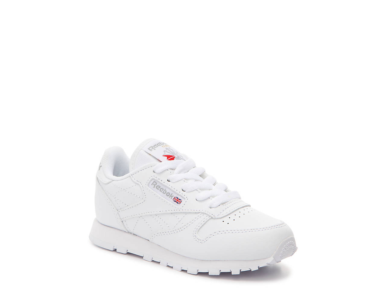 113d4efce3b Reebok Classic Leather Toddler   Youth Sneaker Kids Shoes