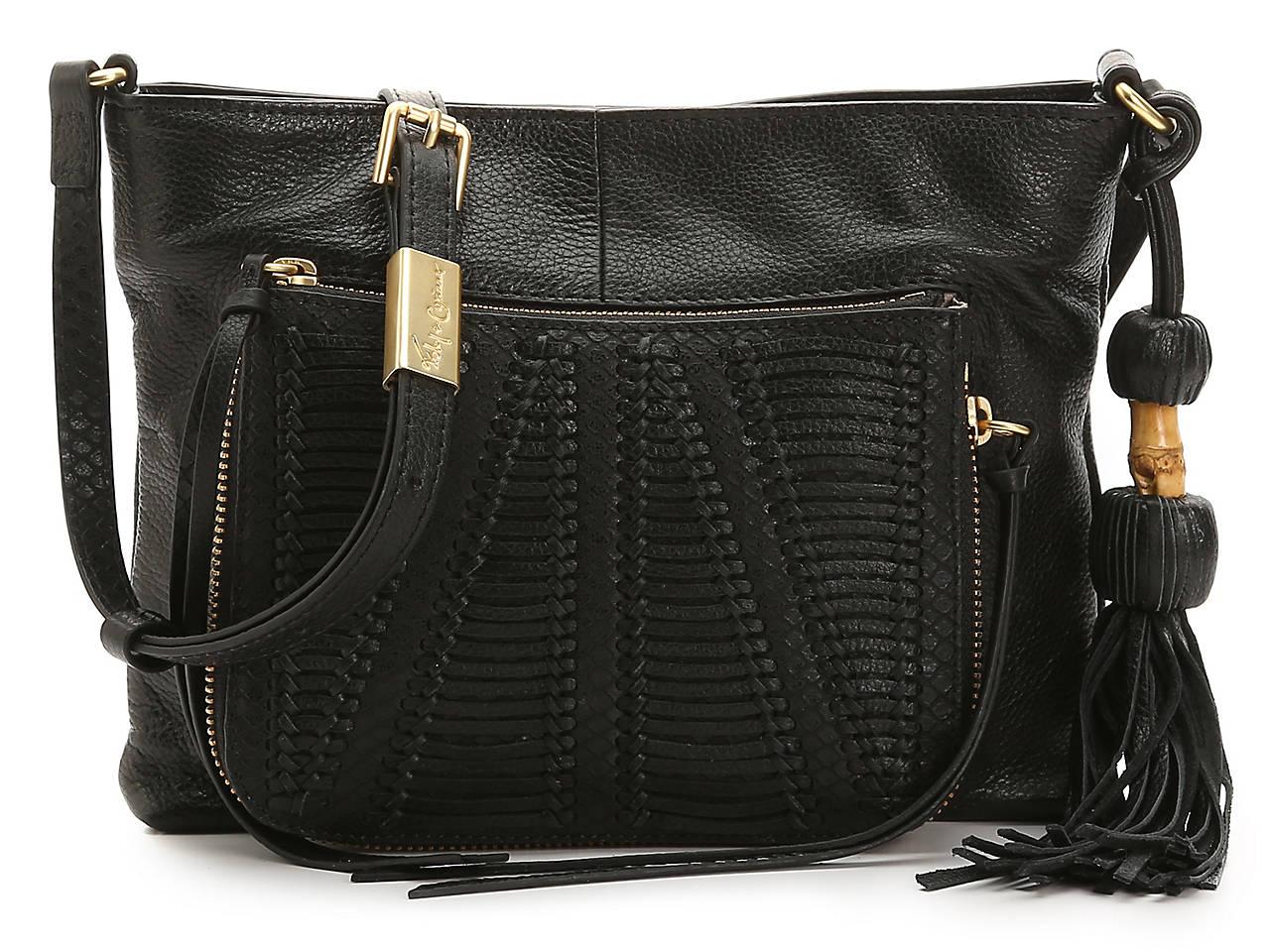 Charlotte Leather Crossbody Bag