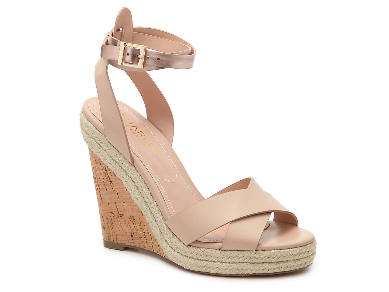 774ecb7ac Charles by Charles David Brit Wedge Sandal Women s Shoes