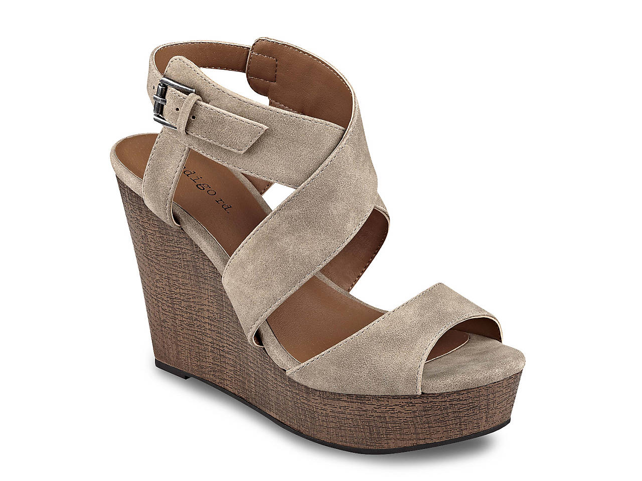 Kamryn Wedge Sandal by Indigo Rd.