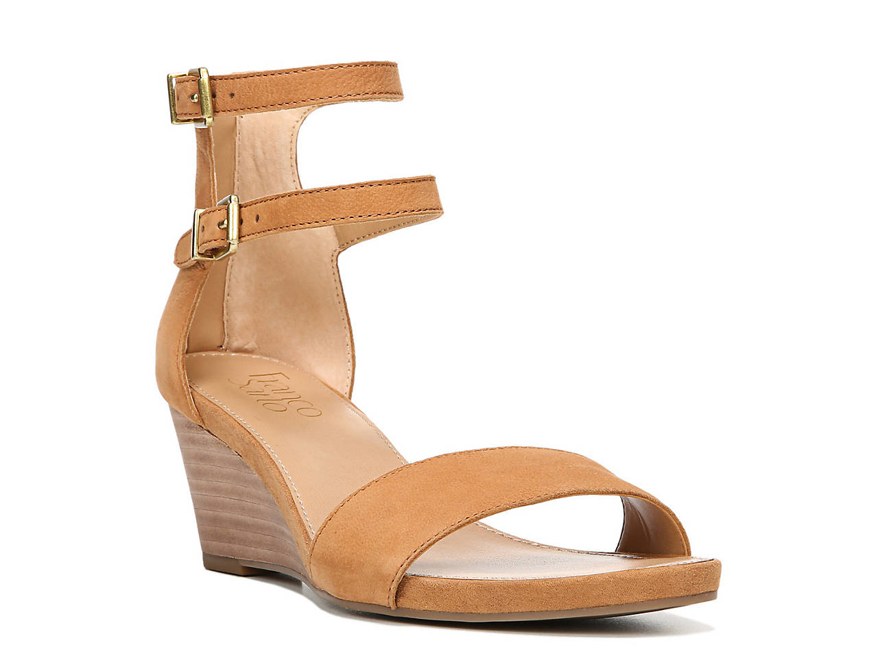 0007ef6064 Franco Sarto Dade Wedge Sandal Women s Shoes