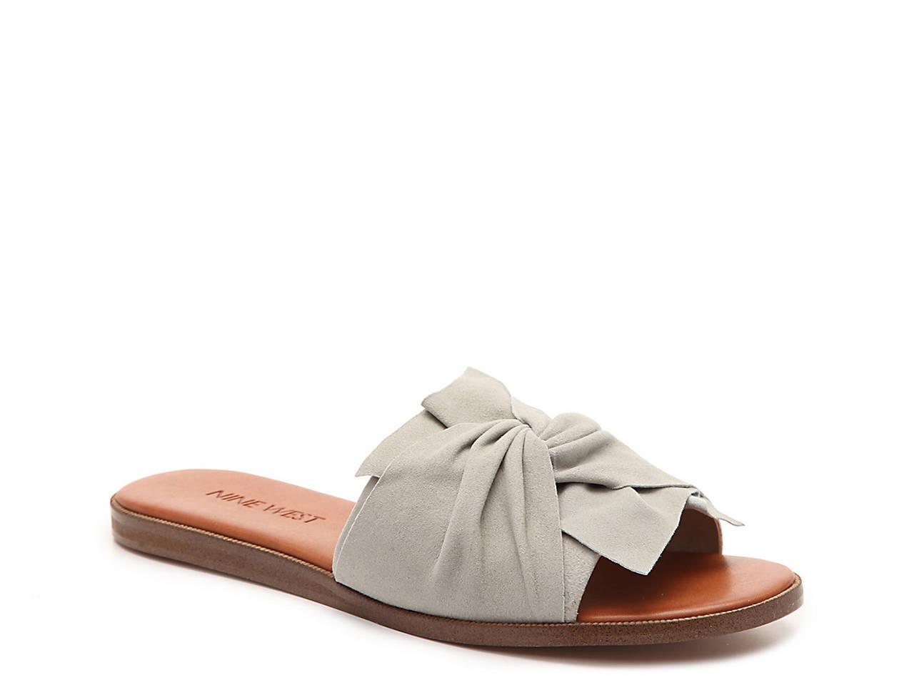 Nine West Melenda Flat Sandal Women s Shoes   DSW b8094bf661