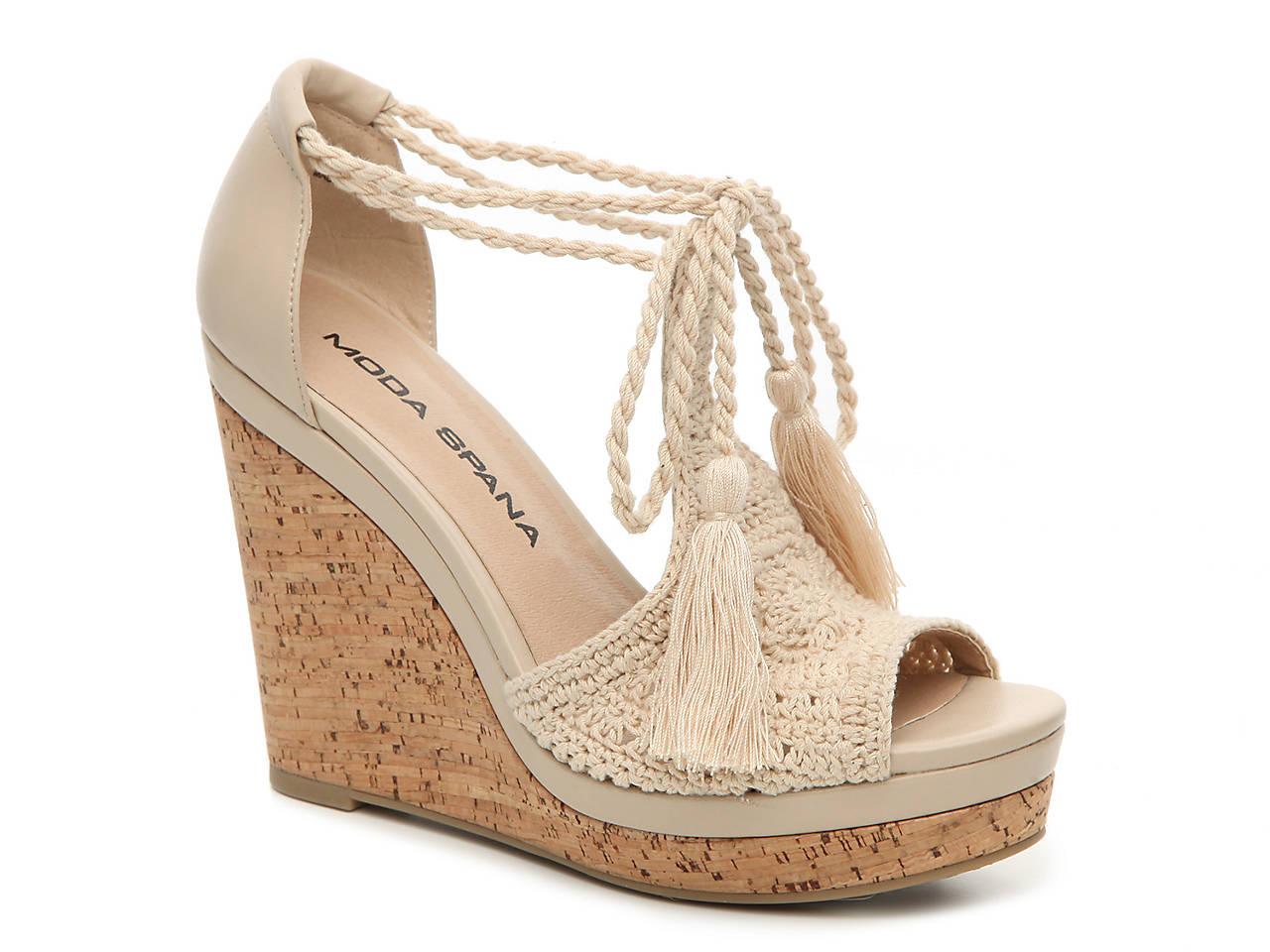 6bfa5e975f13 Moda Spana Wanda Wedge Sandal Women s Shoes