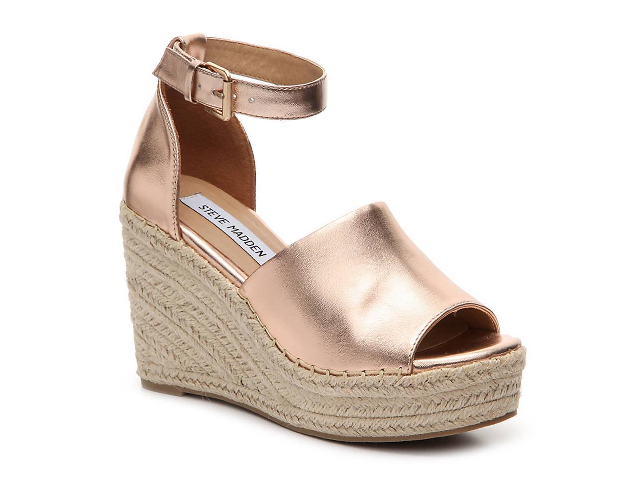 Black sandals at dsw - Jaylen Wedge Sandal