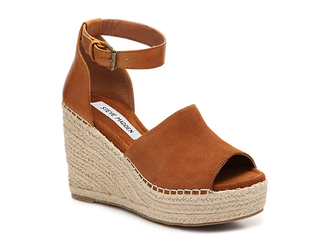 Steve Madden Jaylen Wedge Sandal Women's Shoes | DSW