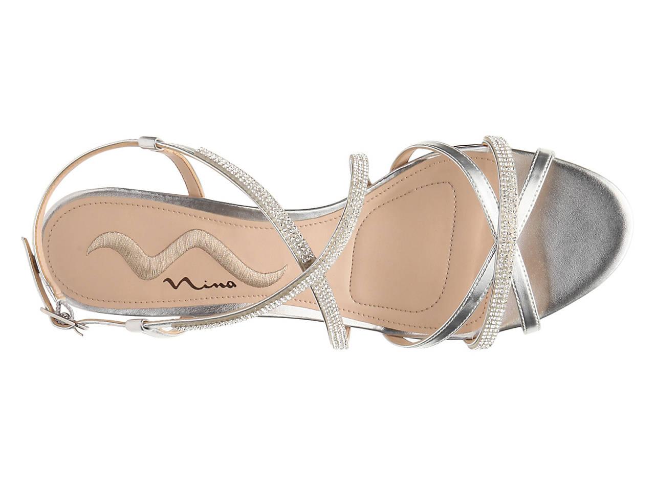 31b94cf9f49 Nina Franya Wedge Sandal Women s Shoes