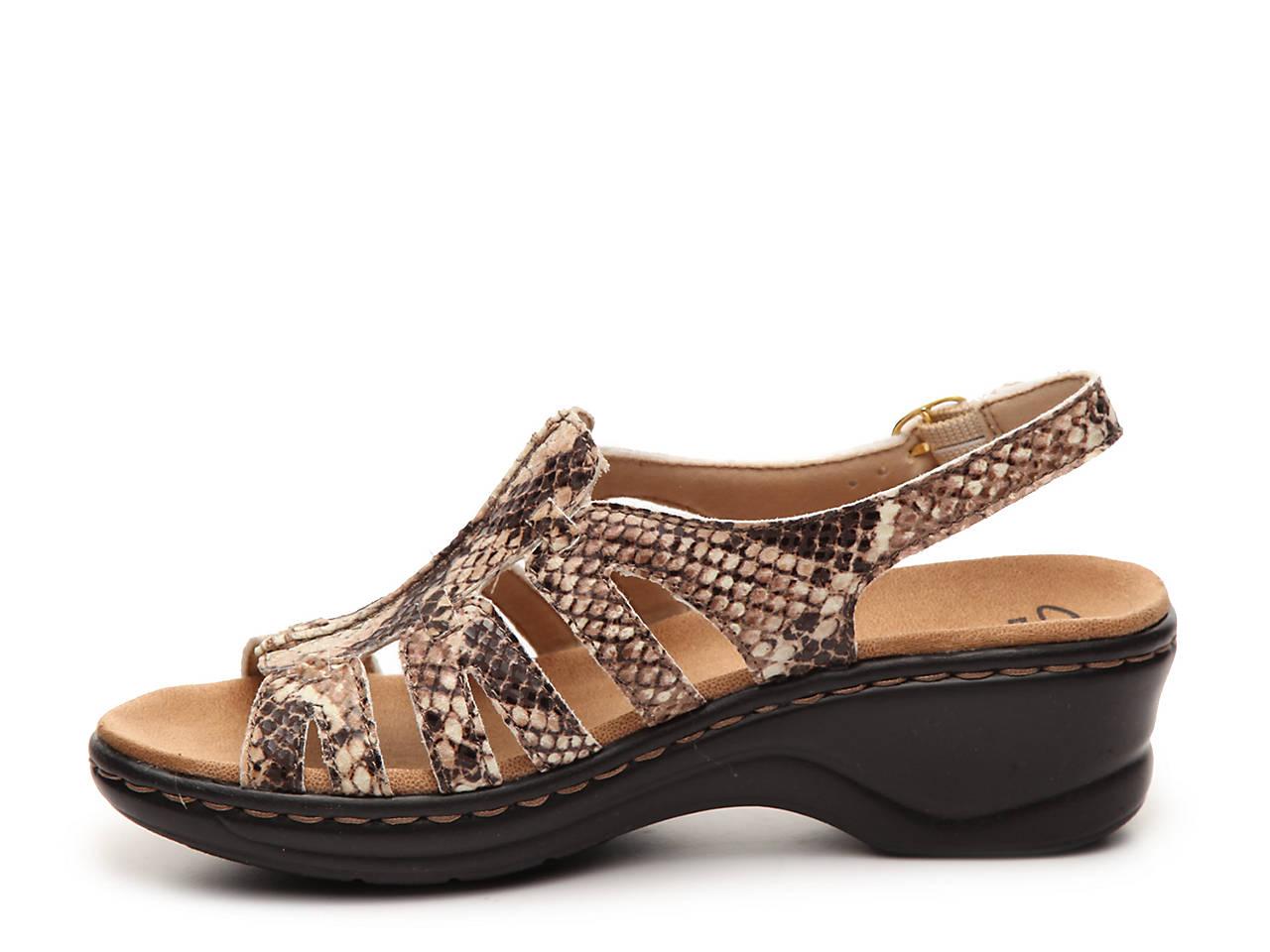 Clarks Lexi Marigold Wedge Sandal Women S Shoes Dsw