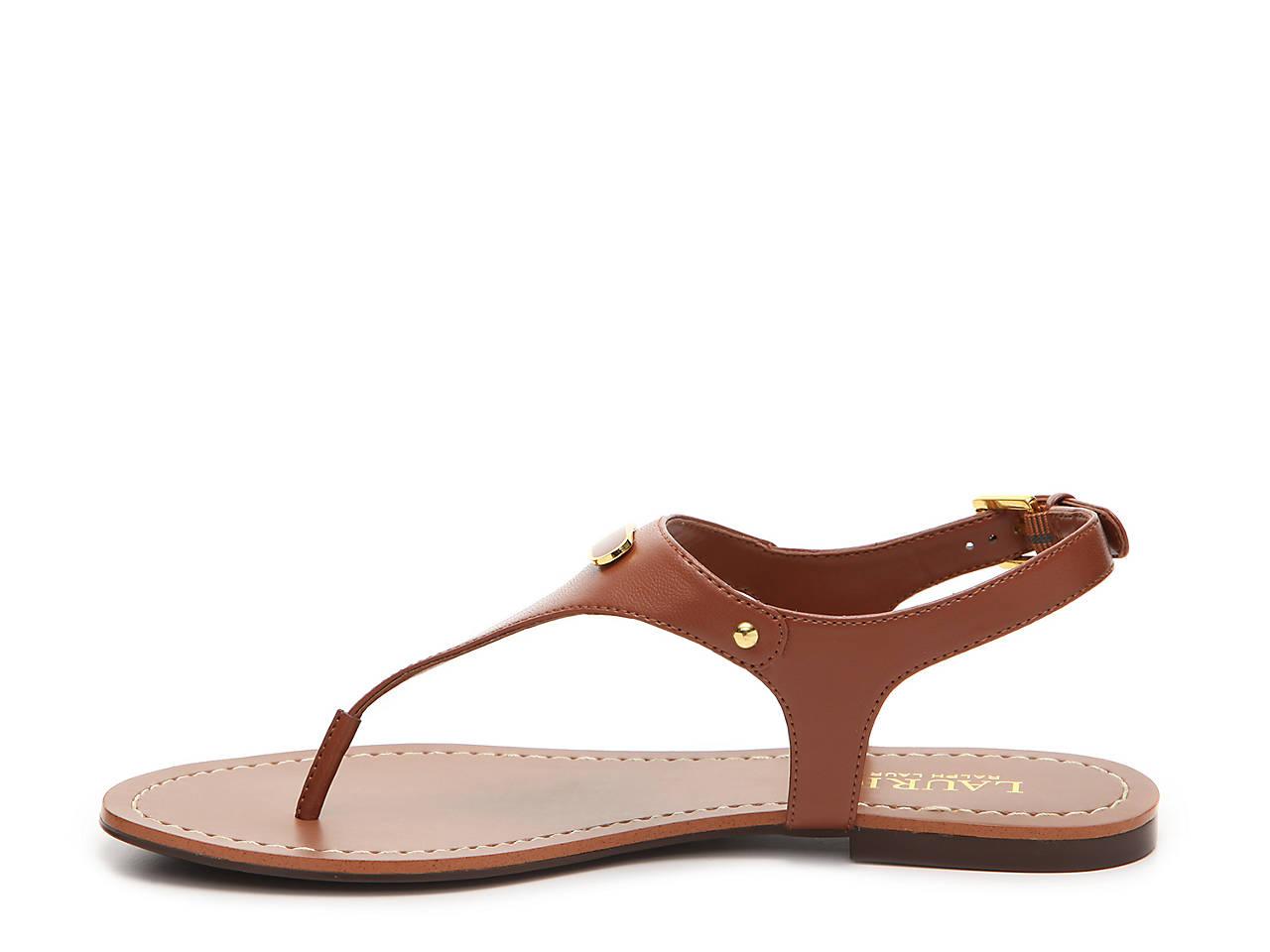 fcacc3d7f4dd0 ... Gold special sales 36e3d  Lauren Ralph Lauren Patsi Flat Sandal Women s  Shoes DSW high quality 63071 2dfe4  Amazing Shopping Savings G by Guess  Tunez ...