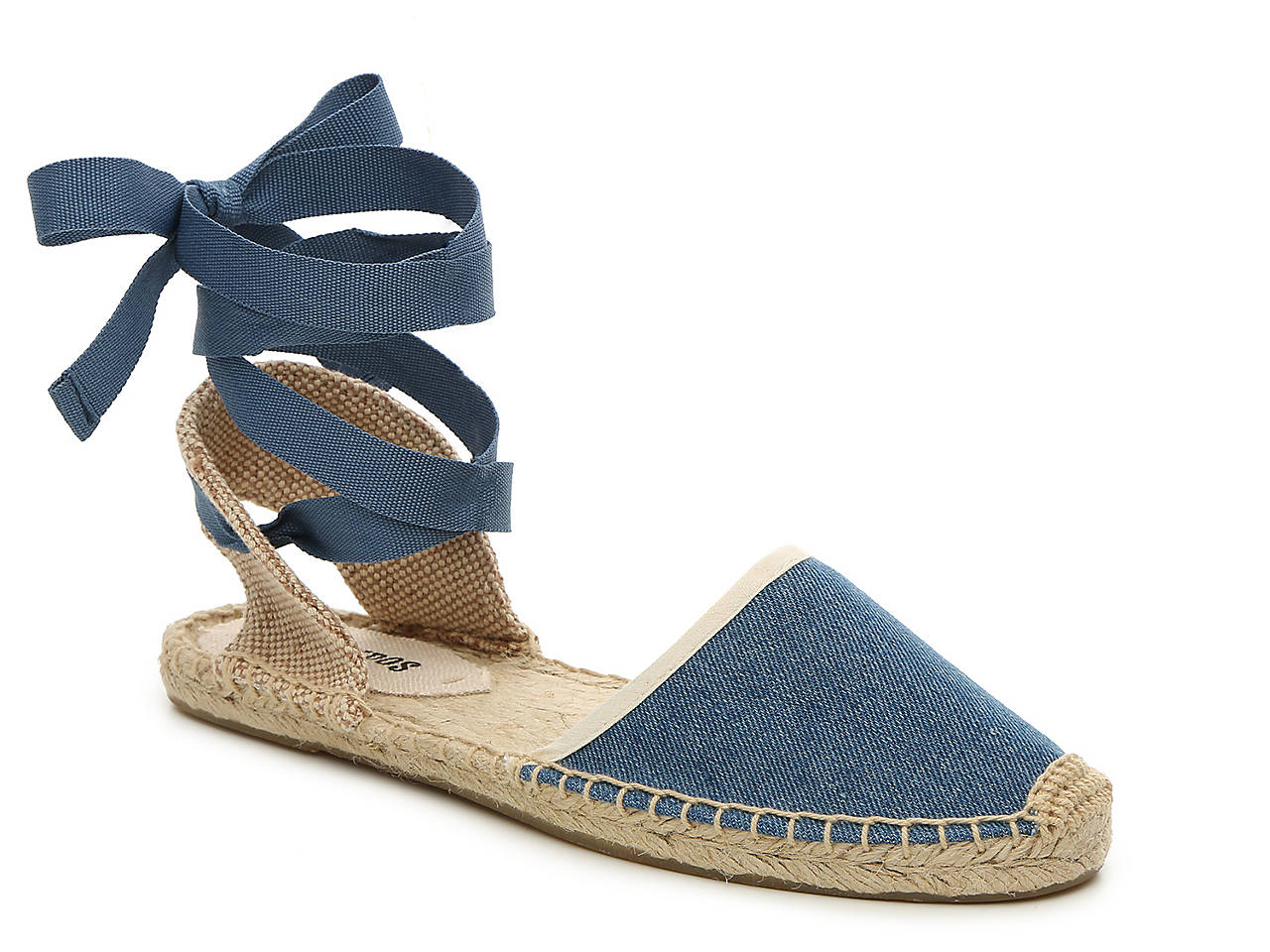171955ff0344 Soludos Classic Denim Espadrille Sandal Women s Shoes