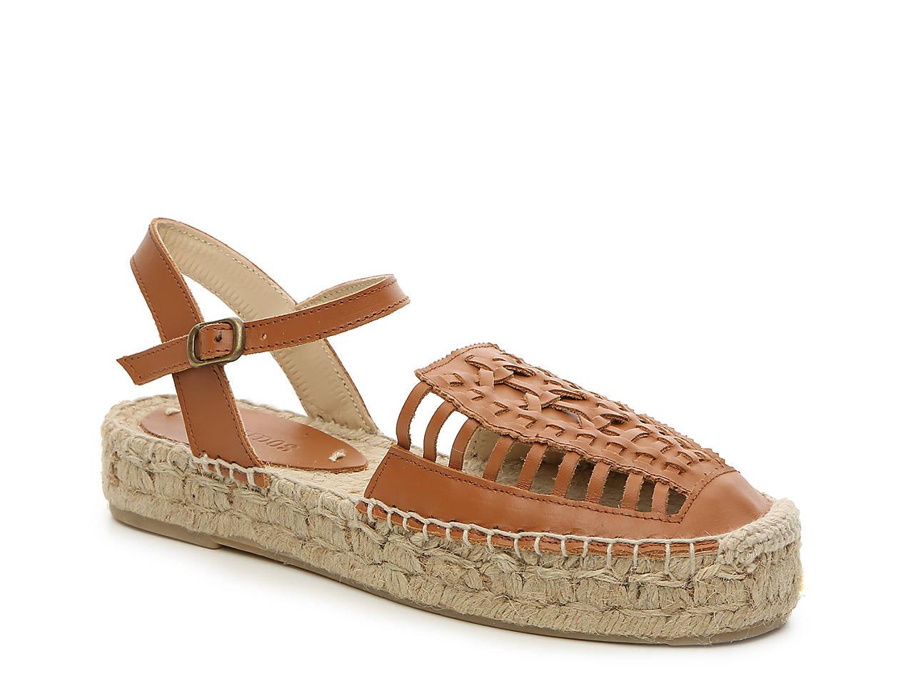 16e2561c45b9 Soludos Leather Espadrille Sandal Men s Shoes