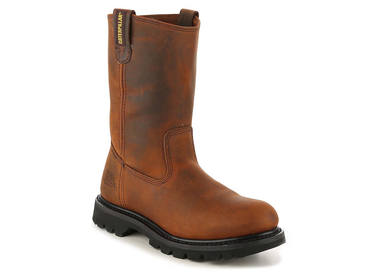 Revolver Steel Toe Work Boot