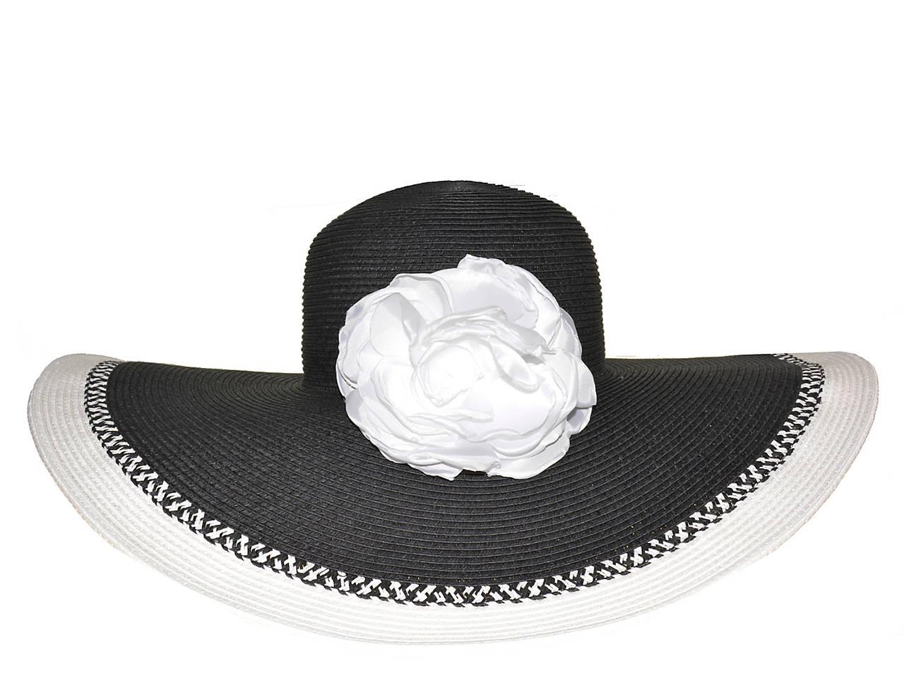 42d499856fd9e8 Nine West Floral Super Floppy Hat Women's Handbags & Accessories   DSW