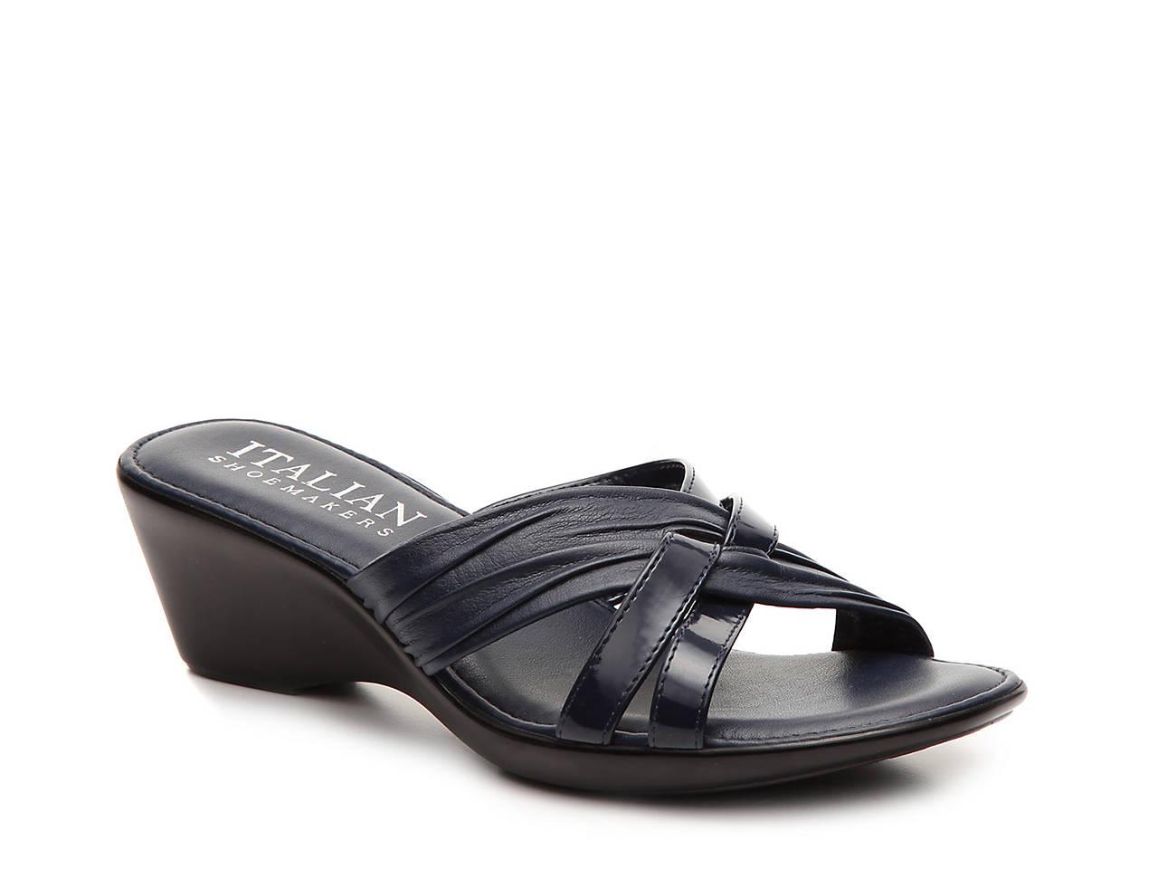 Black sandals at dsw - Florida Wedge Sandal
