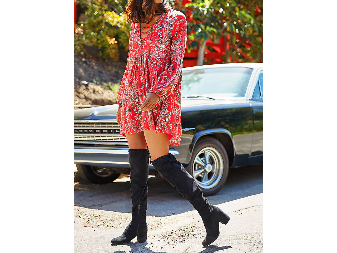 a983d3545b913 Unisa Dedrii Over The Knee Boot Women s Shoes