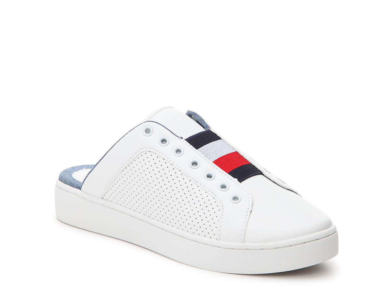Tommy Hilfiger LIGHTWEIGHT CORPORATE - Slip-ons - white 8cnvTc