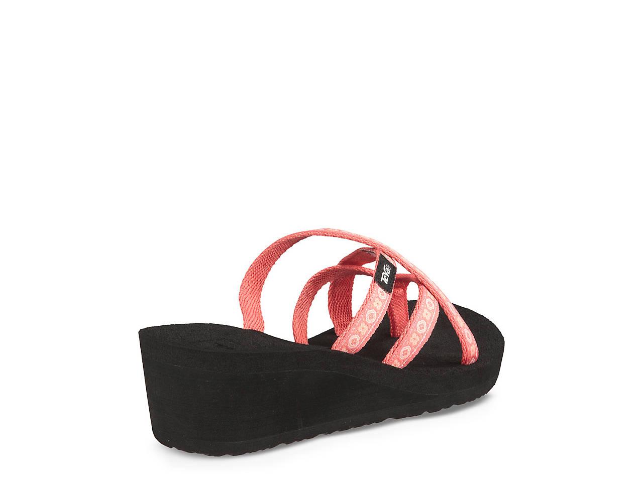 e0d1d7ded Teva Mush Mandalyn Ola II Wedge Flip Flop Women s Shoes