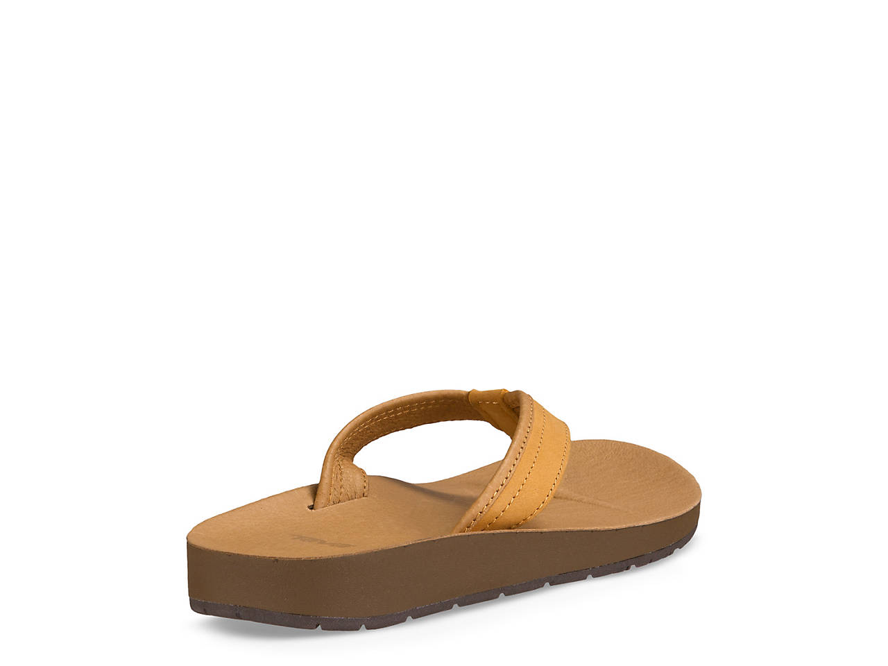 ce9322e27205d0 Teva Azure Leather Flip Flop Women s Shoes
