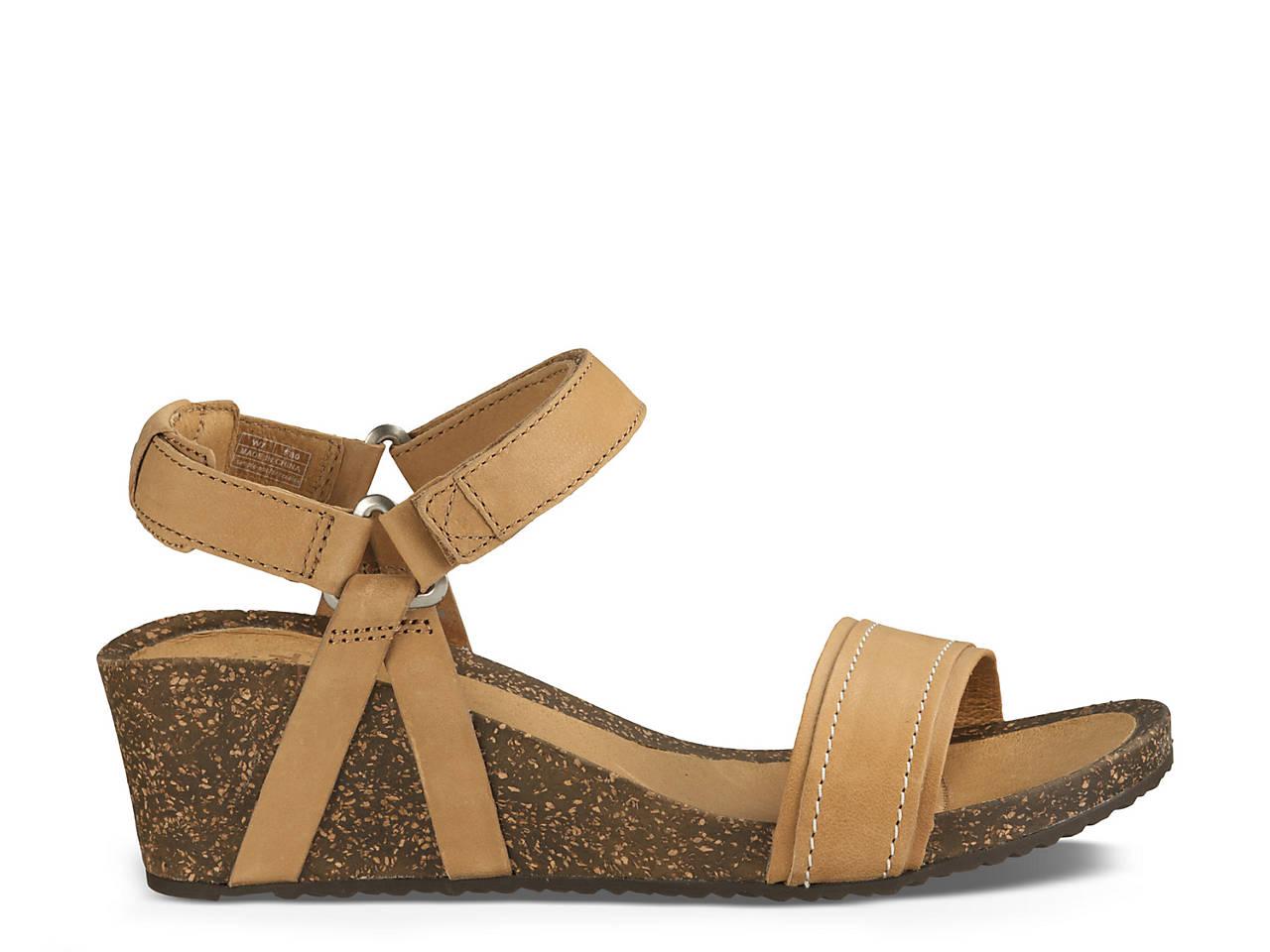 Teva Ysidro Stitch Wedge Sandal Women S Shoes Dsw