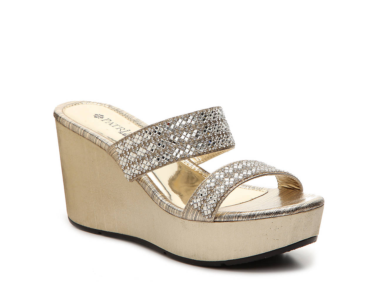 c87d72ad77a1 Patrizia by Spring Step Tanuja Wedge Sandal Women s Shoes