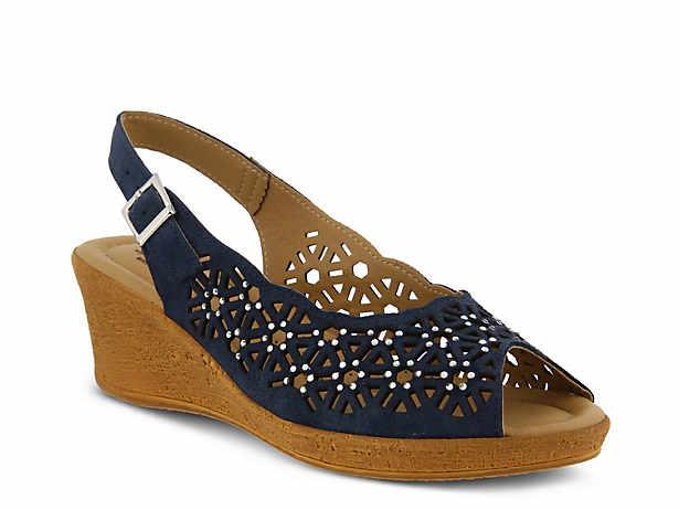 Saibara Wedge Sandal. Spring Step. Saibara Wedge Sandal
