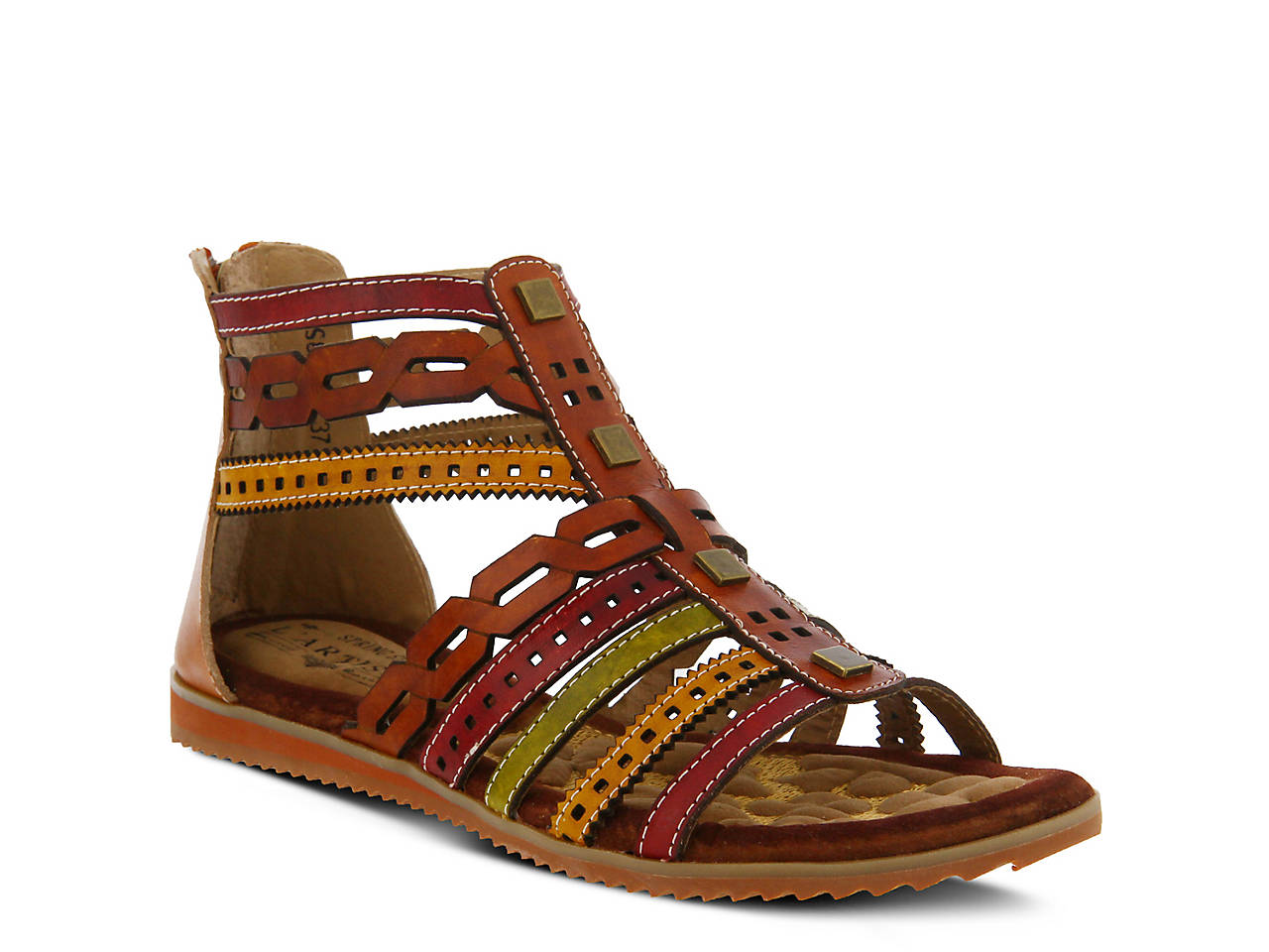 L'Artiste by Spring Step Anjula Gladiator Sandal (Women's) pEvy0AFwg