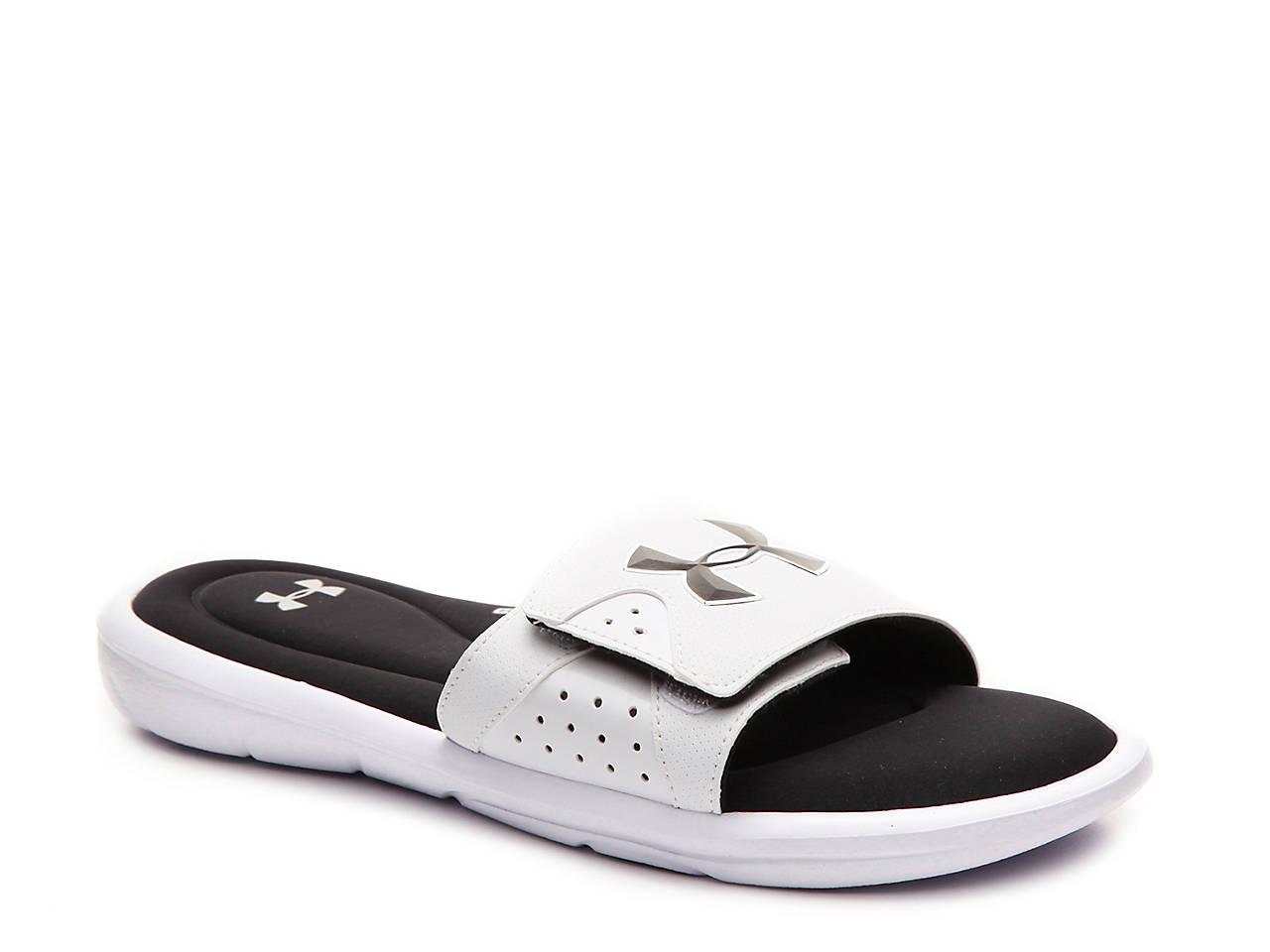 Black sandals at dsw - Ignite Iv Slide Sandal