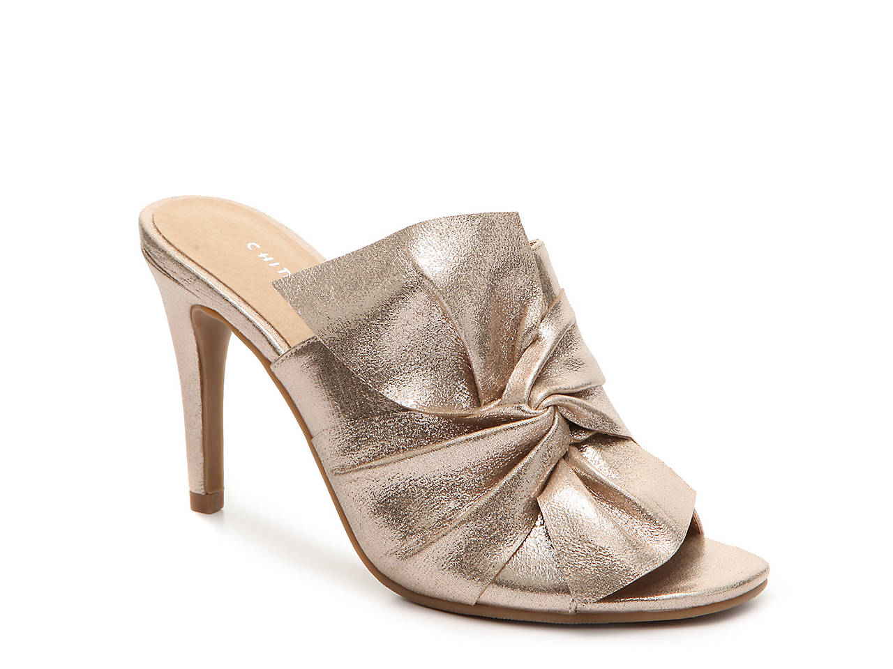 sweetness metallic sandal