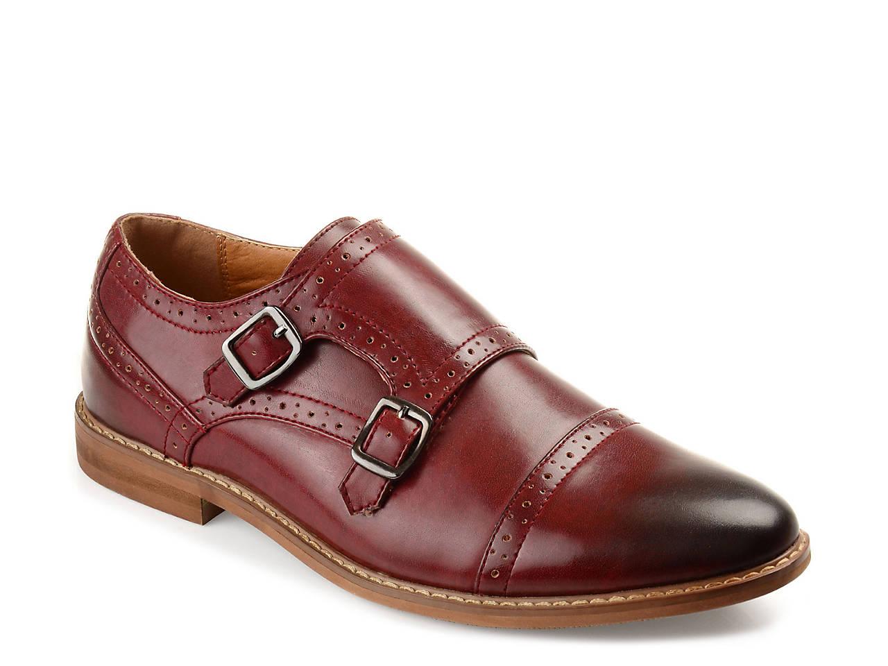 discount purchase Vance Co. Wayne Men's Monk ... Strap Dress Shoes visit ub0RD