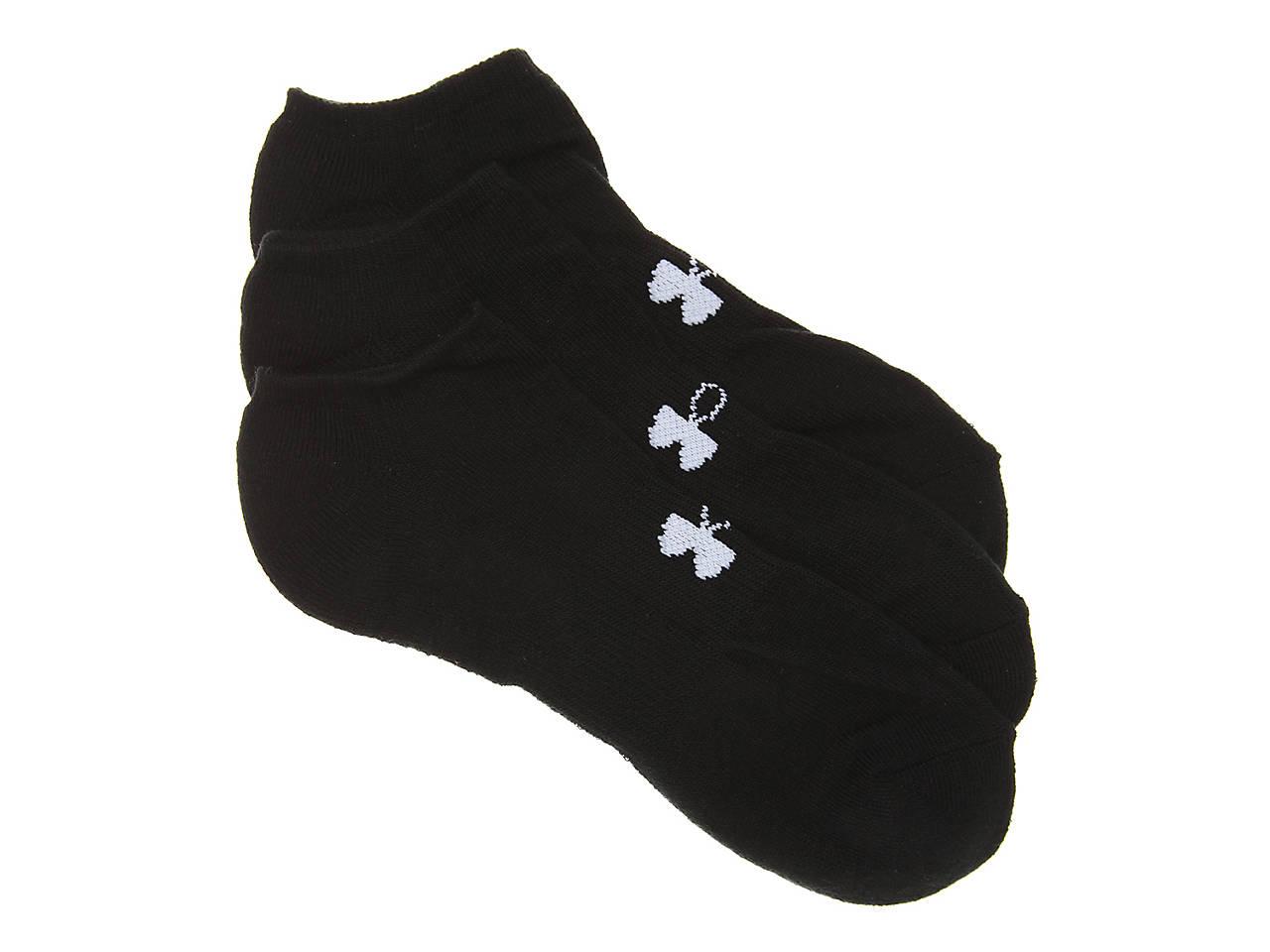 5a4b758957bb Under Armour HeatGear Mens No Show Socks - 3 Pack Men's Handbags ...