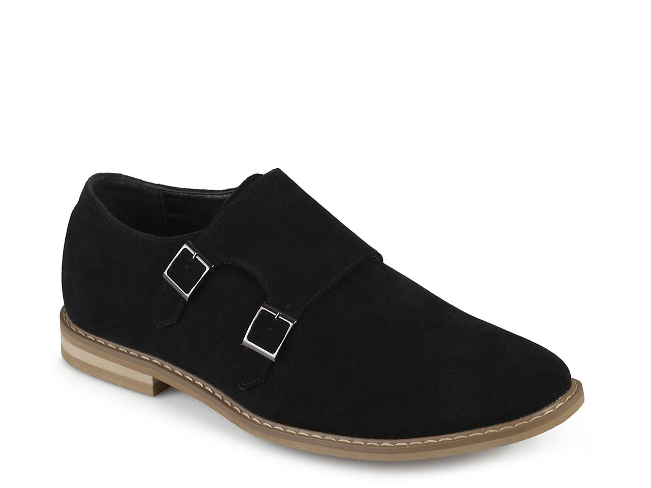 Vance Co Isaac Double Monk Strap Slip On Men S Shoes Dsw