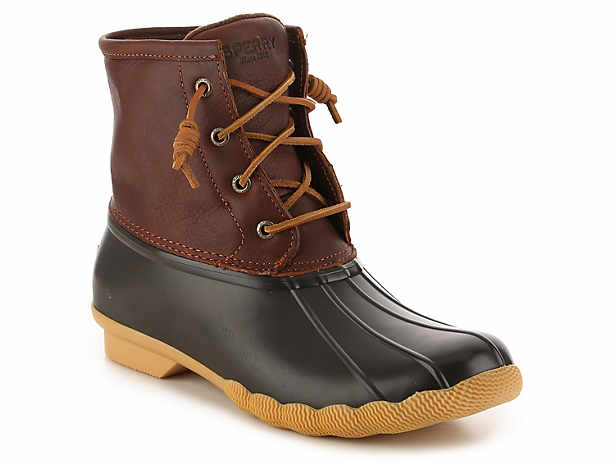 Saltwater Leather Duck Boot