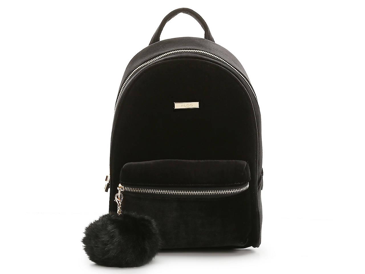 92b9cf13aaa Aldo Pobbio Velvet Mini Backpack Women s Handbags   Accessories