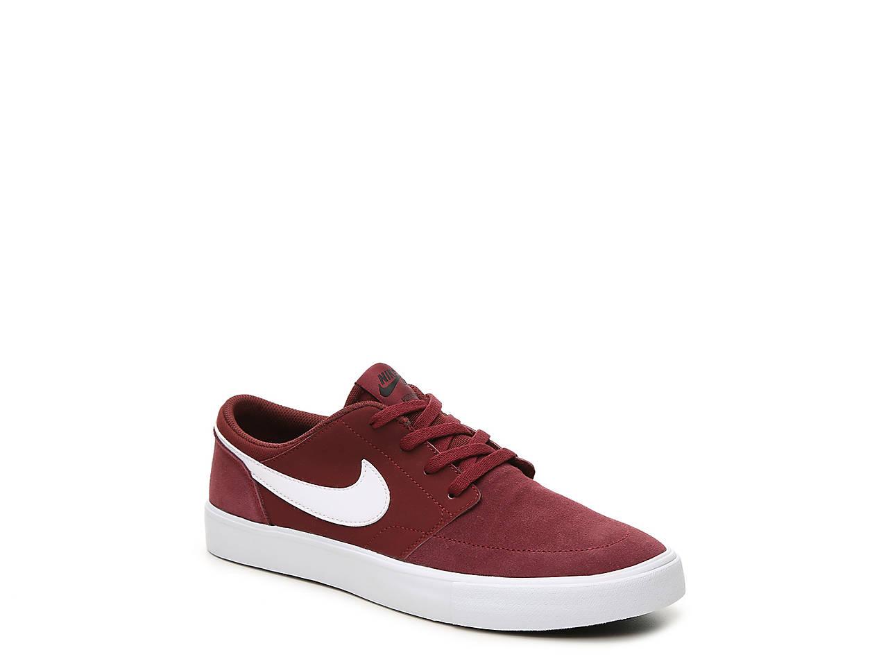 3d93e7d1b437 Nike SB Portmore II Youth Sneaker Kids Shoes