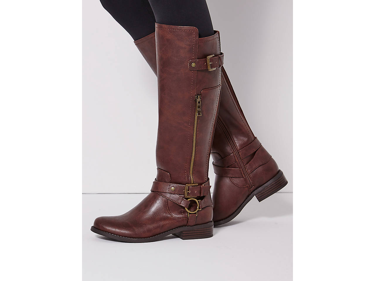 9d33d8678167 G by GUESS Herly Riding Boot Women s Shoes