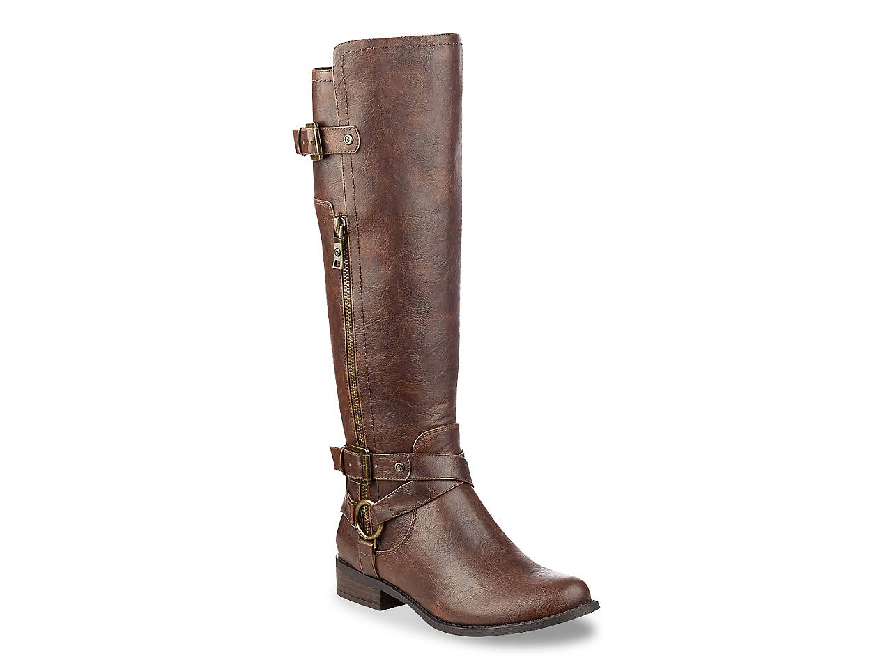 G by GUESS Herly Wide Calf Riding Boot Women s Shoes  a14164f1be