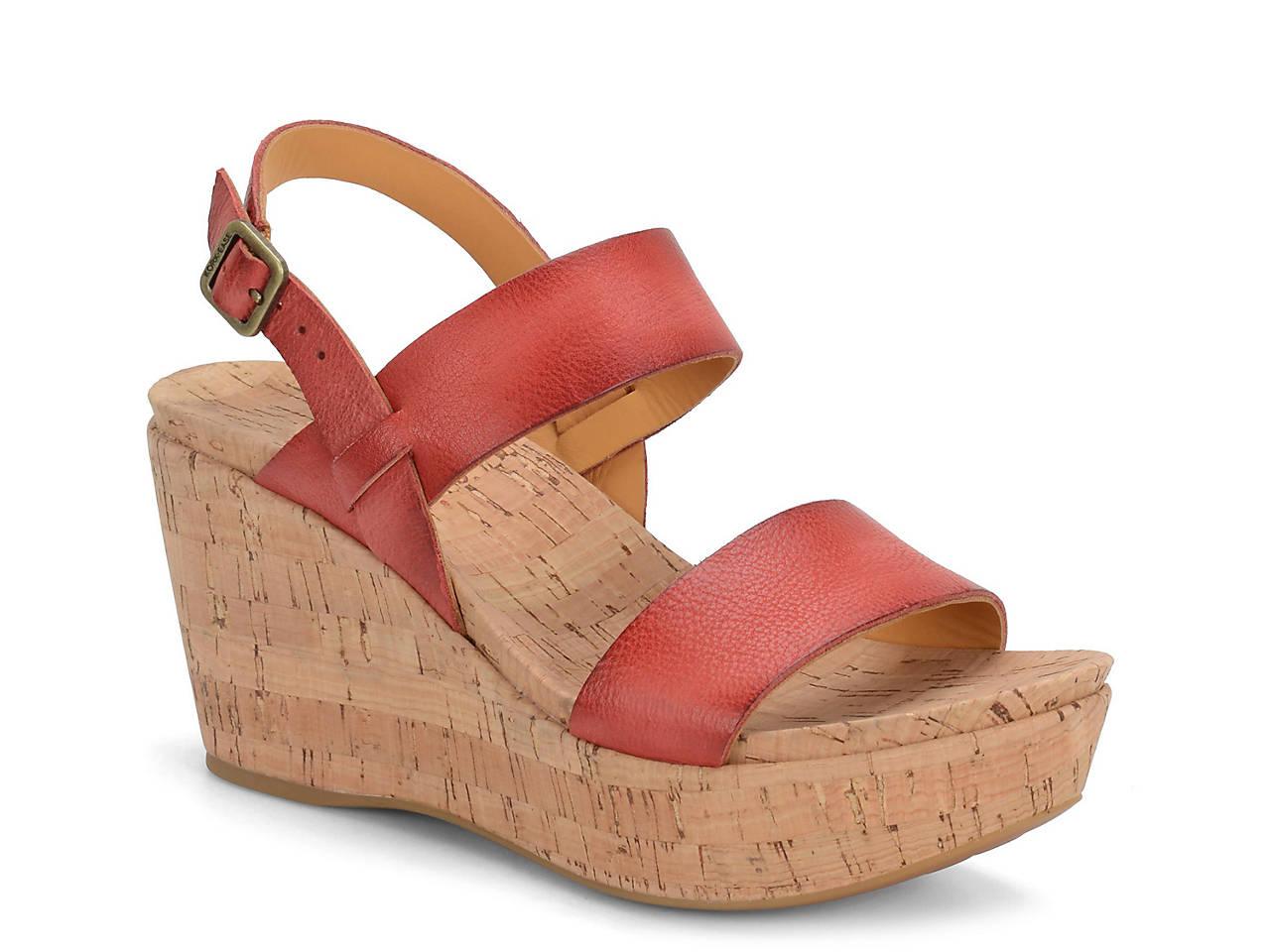 Kork-Ease Austin Wedge Sandals CA4Kp