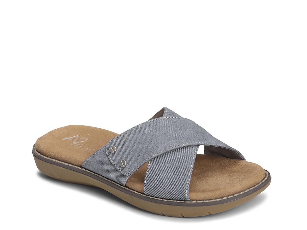 A2 by Aerosoles Cool Breeze ... Women's Slide Sandals tumblr online HFA9j96vY
