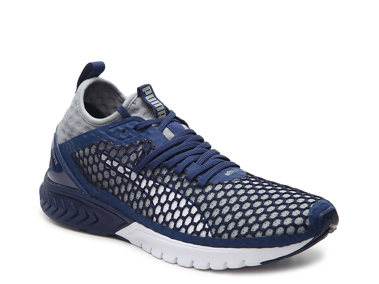 Puma Ignite Dual Netfit Wn S Black Running Shoes cheap brand new unisex free shipping visa payment sale wholesale price countdown package cheap online Qg1nFX91He