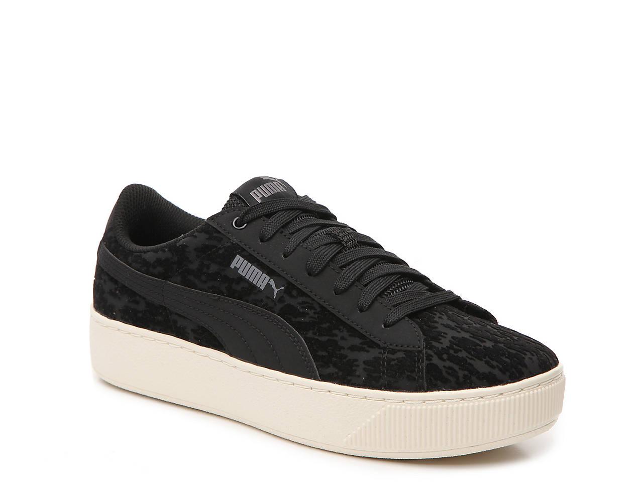 c28c66eefc82 Puma Vikky Velvet Platform Sneaker - Women s Women s Shoes