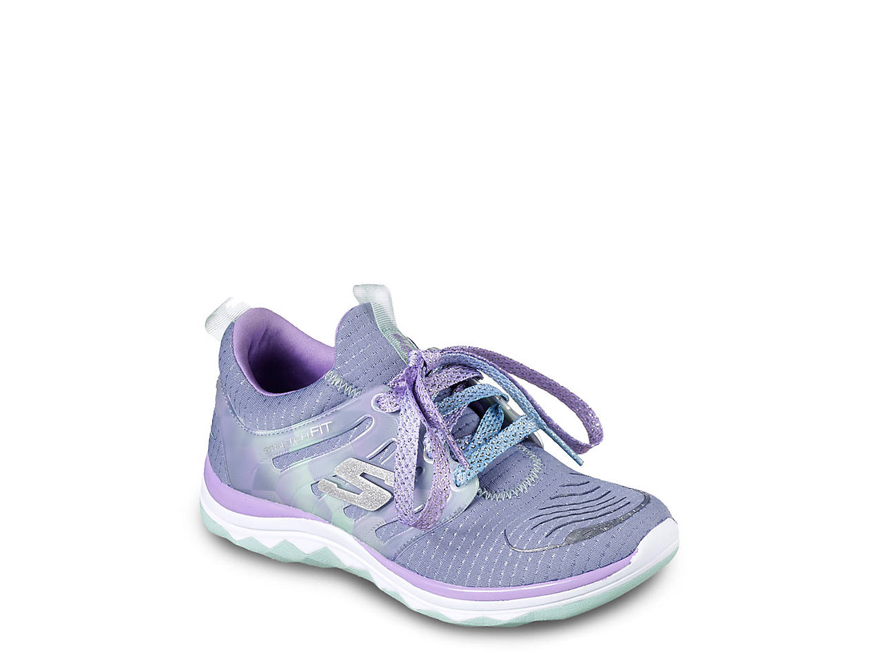 0f7f270b4be7 Skechers Diamond Runner Toddler   Youth Running Shoe Kids Shoes