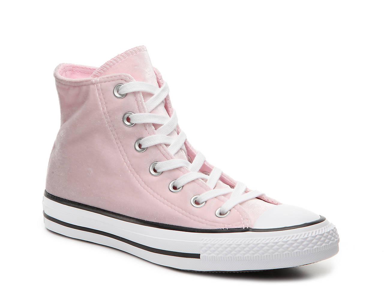 0a63d870c21085 Converse Chuck Taylor All Star Velvet High-Top Sneaker - Women s ...