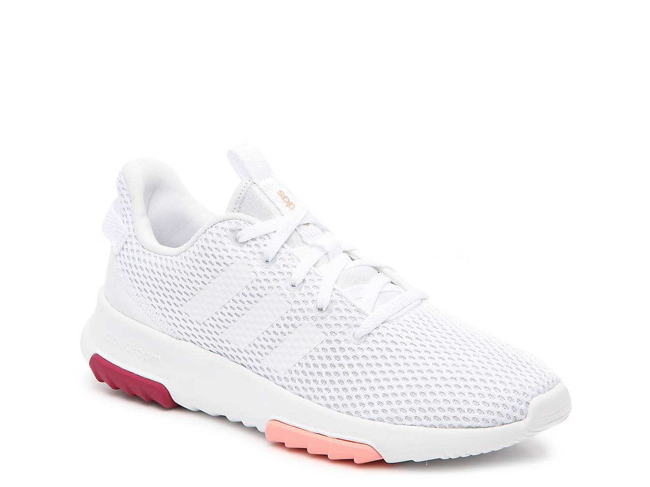 adidas white shoes cloudfoam